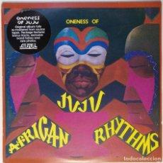 """Discos de vinilo: ONENESS OF JUJU - AFRICAN RHYTHMS (2XLP ALBUM VINILO [ JAZZ / FUNK / SOUL ] 2002 (12"""" ALBUM, 33 RPM). Lote 208426620"""