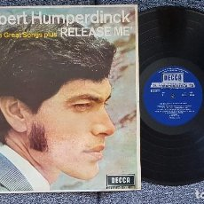 Discos de vinilo: ENGELBERT HUMPERDINCK - TWELVE GREAT SONGS PLUS RELEASE ME. EDITADO POR DECCA. AÑO 1.969. Lote 208426843