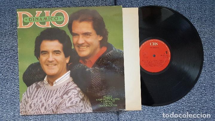 DUO DINAMICO - GRANDES EXITOS (INCLUYE 5 NUEVAS CANCIONES Y 3 MEDLEYS) AÑO 1.986. EDITADO POR CBS (Música - Discos - LP Vinilo - Grupos Españoles de los 70 y 80)