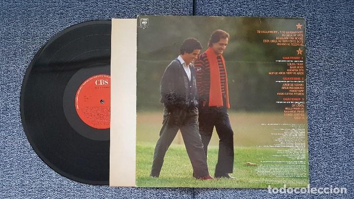 Discos de vinilo: Duo Dinamico - Grandes exitos (incluye 5 nuevas canciones y 3 medleys) año 1.986. editado por CBS - Foto 2 - 208427716