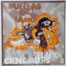 """Discos de vinilo: HUELLAS DE BARRO - EL AITOR CIENGRADOS [ HIP HOP / RAP] EDICIÓN ESPECIAL LIMITADA MX 12"""" 45RPM 2003. Lote 208432801"""