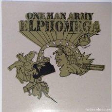 """Discos de vinilo: ELPHOMEGA - ONEMAN ARMY [ HIP HOP / RAP] EDICIÓN ESPECIAL LIMITADA MX 12"""" 45RPM ZONABRUTA 2003. Lote 208433217"""