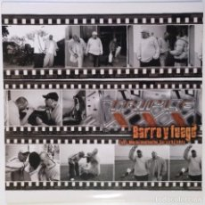 """Discos de vinilo: TRIPLE XXX - BARRO Y FUEGO [ HIP HOP / RAP] EDICIÓN ESPECIAL LIMITADA MX 12"""" 45RPM AVOID 2003. Lote 208433352"""