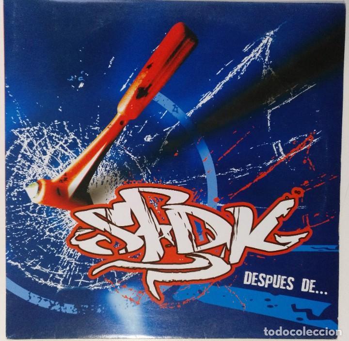 "SFDK - DESPUES DE... [ HIP HOP / RAP EDICIÓN ESPECIAL LIMITADA MX 12"" 45RPM SEVILLA ZATU 2004 (Música - Discos de Vinilo - Maxi Singles - Rap / Hip Hop)"