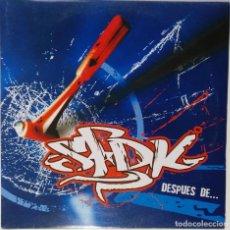 """Discos de vinilo: SFDK - DESPUES DE... [ HIP HOP / RAP EDICIÓN ESPECIAL LIMITADA MX 12"""" 45RPM SEVILLA ZATU 2004. Lote 208433915"""