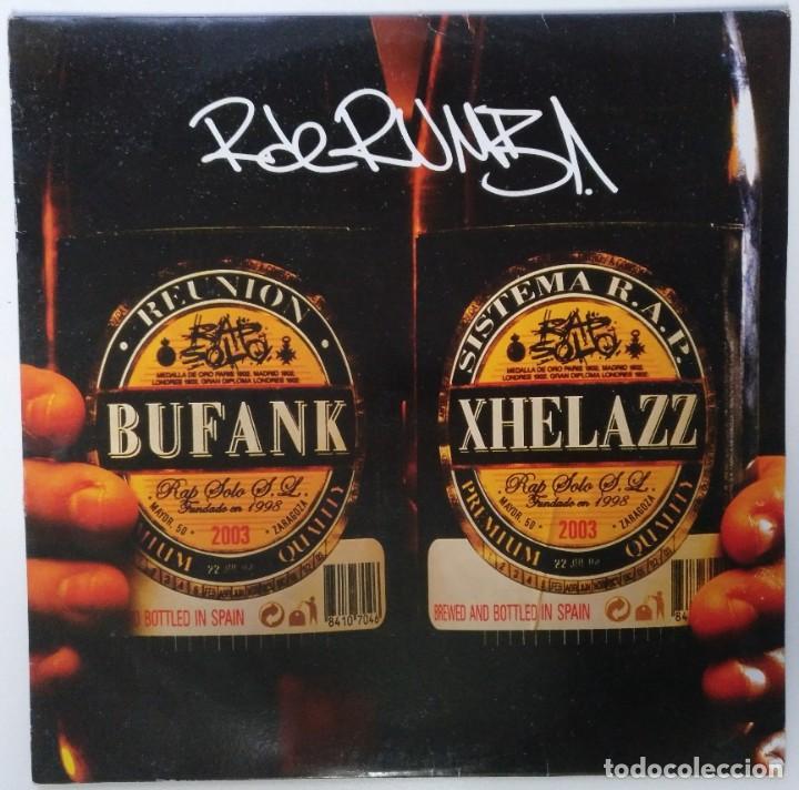 """R DE RUMBA - BUFANK XHELAZZ [HIP HOP / RAP EDICIÓN EXCLUSIVA] VIOLADORES DEL VERSO MX 12"""" 45RPM 2003 (Música - Discos de Vinilo - Maxi Singles - Rap / Hip Hop)"""