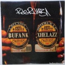 """Discos de vinilo: R DE RUMBA - BUFANK XHELAZZ [HIP HOP / RAP EDICIÓN EXCLUSIVA] VIOLADORES DEL VERSO MX 12"""" 45RPM 2003. Lote 208434812"""