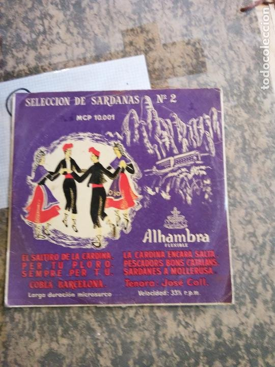 SELECCION DE SARDANAS Nº2. LA CARDINA ENCARA SALTA. SEMPRE PER TU. ALHAMBRA FLEXIBLE. (Música - Discos - LP Vinilo - Otros estilos)