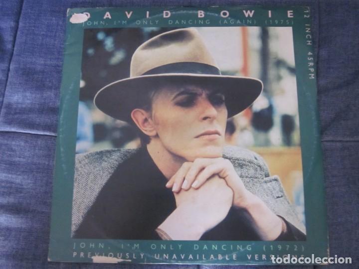 DAVID BOWIE - JOHN,I'M ONLY DANCING(AGAIN) - MX - EDICION DEL AÑO 1979. (Música - Discos de Vinilo - Maxi Singles - Pop - Rock Internacional de los 70)