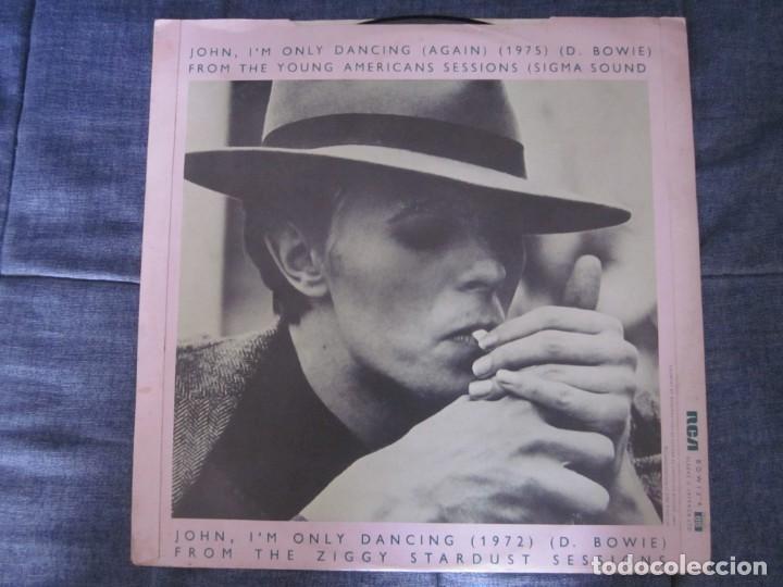 Discos de vinilo: DAVID BOWIE - JOHN,IM ONLY DANCING(AGAIN) - MX - EDICION DEL AÑO 1979. - Foto 2 - 208446923