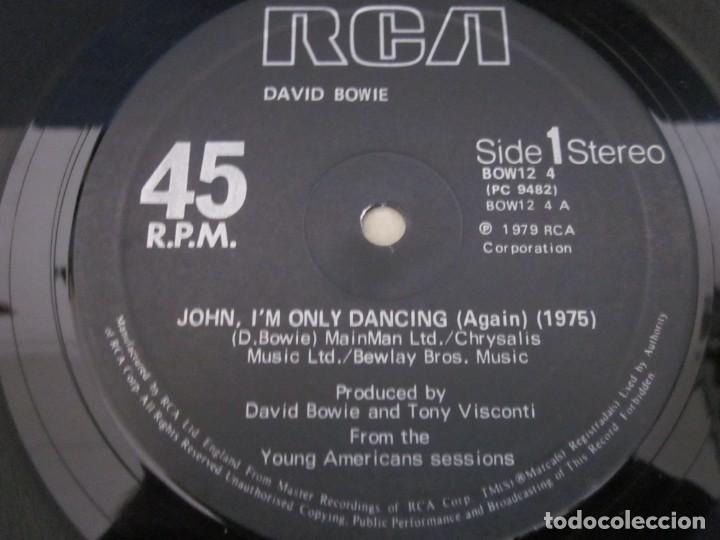 Discos de vinilo: DAVID BOWIE - JOHN,IM ONLY DANCING(AGAIN) - MX - EDICION DEL AÑO 1979. - Foto 3 - 208446923