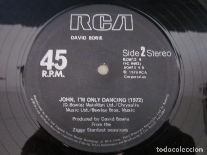 Discos de vinilo: DAVID BOWIE - JOHN,IM ONLY DANCING(AGAIN) - MX - EDICION DEL AÑO 1979. - Foto 4 - 208446923