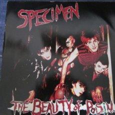 Discos de vinilo: SPECIMEN - THE BEAUTY OF POISIN - MX - EDICION INGLESA DEL AÑO 1983. Lote 208448382