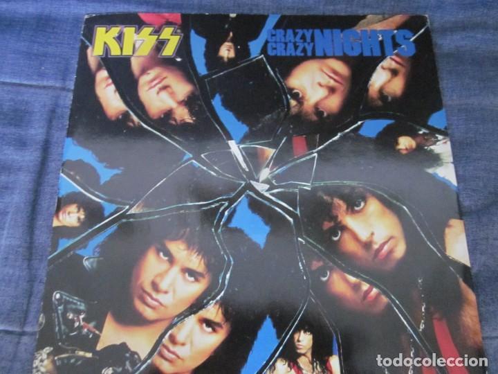 KISS - CRAZY CRAZY NIGHTS - MX - EDICION DEL AÑO 1987 - 4 TEMAS. (Música - Discos de Vinilo - Maxi Singles - Heavy - Metal)