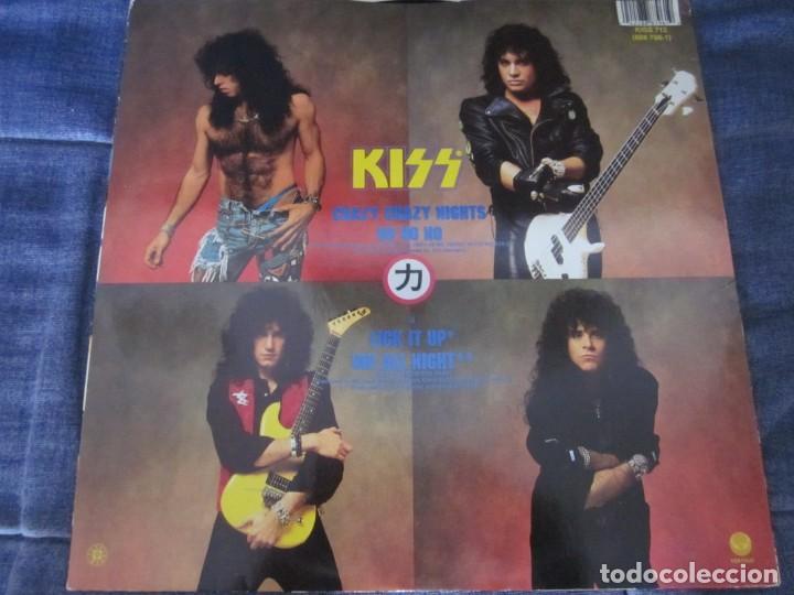 Discos de vinilo: KISS - CRAZY CRAZY NIGHTS - MX - EDICION DEL AÑO 1987 - 4 TEMAS. - Foto 2 - 208448897