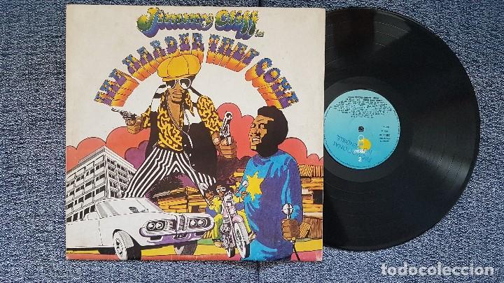 JIMMY CLIFF - THE HARDER THEY COME. EDICIÓN AÑO 1.972 - ARIOLA.VINILO PROMO.CON LETRAS CANCIONES (Música - Discos - LP Vinilo - Reggae - Ska)
