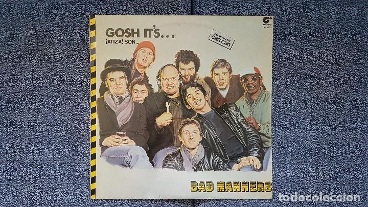 BAD MANNERS - GOSH IT´S. EDITADO POR MAGNET. AÑO 1.981. INCLUYE SU EXITO CAN-CAN (Música - Discos - LP Vinilo - Reggae - Ska)