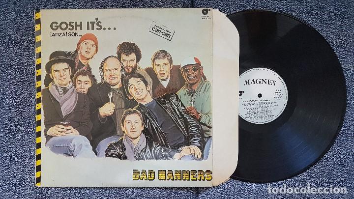 Discos de vinilo: Bad Manners - Gosh it´s. editado por Magnet. año 1.981. Incluye su exito Can-can - Foto 2 - 208453262