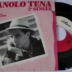 """Discos de vinilo: MANOLO TENA 7"""" SPAIN 45 COMIDA PARA PERROS 2º SINGLE VINILO 1988 SPANISH ROCK EX ALARMA BUEN ESTADO. Lote 208474062"""