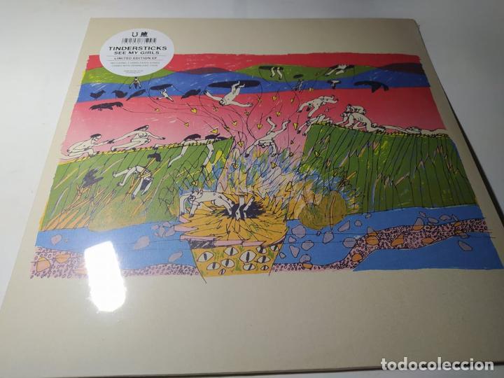 EP - TINDERSTICKS – SEE MY GIRLS - LUCKY DOG 26 - E. LIMITADA - ¡ NUEVO ! (Música - Discos de Vinilo - EPs - Pop - Rock Extranjero de los 90 a la actualidad)