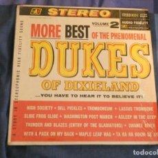 Disques de vinyle: LP USA ANTIQUISIMO MORE BEST OF THE DUKES OF DIXIELAND VOLUME 2 CIRCA 1962 MUY BUEN ESTADO. Lote 208480427