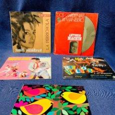 Discos de vinilo: LOTE 5 DISCOS GUILLOT VALDES BEBO PAQUITO JEREZ MACHIN MISTRAL. Lote 208486280