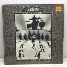 Discos de vinilo: LP - DISCO - VINILO - MAXI SINGLE - LOS ELEGANTES - CALLE DEL RITMO - RARA AVIS. Lote 208488797