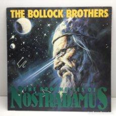 Discos de vinilo: LP - DISCO - VINILO - THE BOLLOCK BROTHERS - THE PROPHECIES OF NOSTRADAMUS - AÑO 1987. Lote 208492027