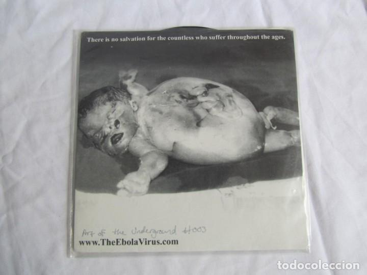 Discos de vinilo: EP vinilo Ebola virus No redemption - Foto 2 - 208492177