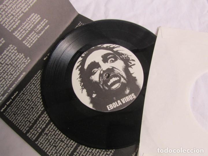 Discos de vinilo: EP vinilo Ebola virus No redemption - Foto 4 - 208492177