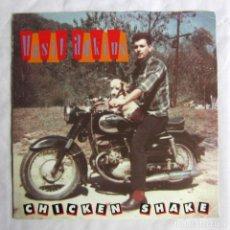 Discos de vinilo: SINGLE VINILO HASIL ADKINS, CHICKEN SHAKE 1991. Lote 208492343