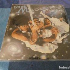 Discos de vinilo: LP BONEY M NIGHTFLIGHT TO VENUS PORTADA CON CIERTO USO VINILO ACEPTABLE ESPAÑOL. Lote 208566318