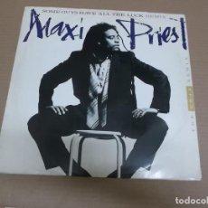 Discos de vinilo: MAXI PRIEST (MX) SOME GUYS HAVE ALL THE LUCK (3 TRACKS) AÑO – 1987 – EDICION U.K.. Lote 208597071