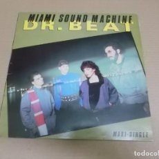 Discos de vinilo: MIAMI SOUND MACHINE (MX) DR. BEAT (2 TRACKS) AÑO – 1984. Lote 208597548
