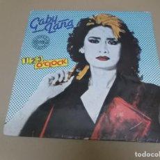 Dischi in vinile: GABY LANG (MX) 1, 2, 3 O'CLOCK (2 TRACKS) AÑO – 1984. Lote 208598188