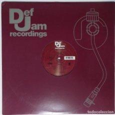 """Discos de vinilo: DMX - WHO WE BE / DEF JAM RECORDS [ US HIP HOP / RAP EDICIÓN EXCLUSIVA] [[[MX 12"""" 45RPM]]] [[2001]]. Lote 208600061"""