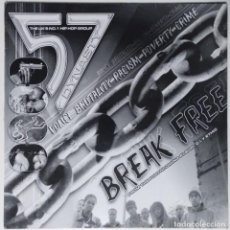 "Discos de vinilo: THE 57 DYNASTY - BREAK FREE [ UK HIP HOP / RAP EDICIÓN EXCLUSIVA] Nº1 EN UK [MX 12"" 45RPM] [[2002]]. Lote 208600368"