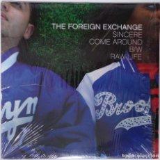 """Discos de vinilo: THE FOREING EXCHANGE - SINCERE [ US HIP HOP / RAP EDICIÓN EXCLUSIVA] [MX 12"""" 45RPM] [[2004]]. Lote 208600993"""