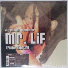 "Discos de vinilo: D-TENSION PRESENTS MR LIF / AKROBATIK [ US HIP HOP / RAP EDICIÓN EXCLUSIVA] [MX 12"" 45RPM] [[2002]]. Lote 208646297"