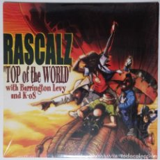 """Discos de vinilo: RASCALZ - TOP OF THE WORLD FT. K-OS [ US HIP HOP / RAP EDICIÓN EXCLUSIVA] [MX 12"""" 45RPM] [[2000]]. Lote 208646515"""