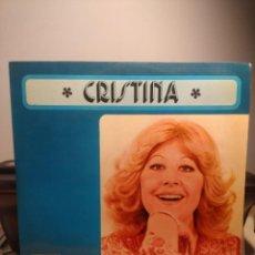 Discos de vinilo: LP CRISTINA ( CRISTINA Y LOS TOPS ) : NIÑO DEL AÑO 2000 ( TEMAS COMPUESTOS POR MANOLO GALVAN). Lote 208654690