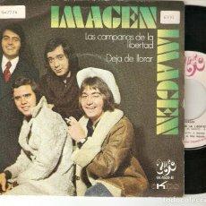 """Discos de vinilo: IMAGEN 7"""" SPAIN 45 LAS CAMPANAS DE LA LIBERTAD SINGLE VINILO ORIGINAL 1971 POP ROCK UNIC EKIPO MIRA. Lote 208662302"""