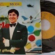 """Discos de vinilo: KARLO 7"""" SPAIN 45 CARRUSEL + ANGELITOS GITANOS SINGLE VINILO ORIGINAL 1970 POP VICTORIA FIRMADO RARO. Lote 208671643"""