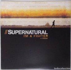 """Discos de vinilo: SUPERNATURAL - I'M A FIGHTER FT. CHOKLATE [ US HIP HOP / RAP EXCLUSIVO ] [[MX 12"""" 45RPM]] [[2005]]. Lote 208684270"""