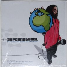 "Discos de vinilo: SUPERNATURAL - INTERNATIONALLY KNOW [ US HIP HOP / RAP EXCLUSIVO ] [[MX 12"" 45RPM]] [[2002]]. Lote 208684670"