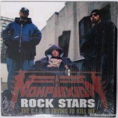 "Discos de vinilo: NON PHIXION - ROCK STARS THE C.I.A. [ US HIP HOP / RAP EDICIÓN EXCLUSIVA ] [[MX 12"" 45RPM]] [[2002]]. Lote 208686650"