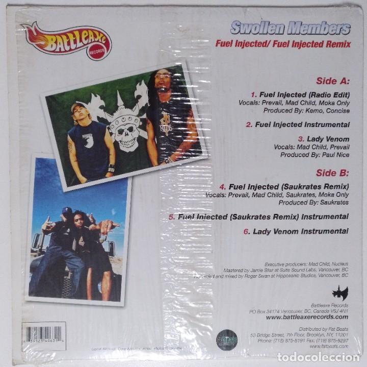 """Discos de vinilo: SWOLLEN MEMBERS - FUEL INJECTED [ US HIP HOP / RAP EDICIÓN EXCLUSIVA ] [[MX 12"""" 45RPM]] [[2002]] - Foto 2 - 208689358"""