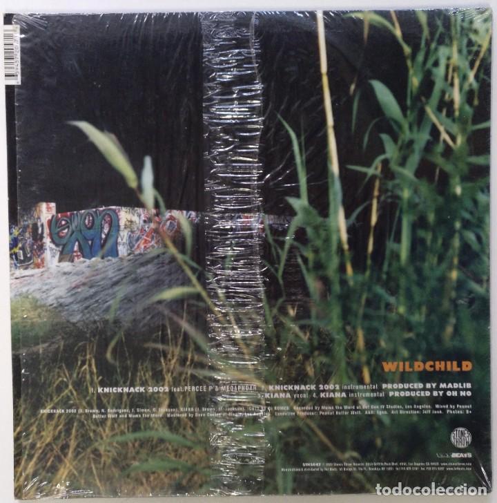 """Discos de vinilo: WILDCHILD - KNICKACK Ft. MADLIB [ US HIP HOP / RAP EDICIÓN EXCLUSIVA ] [[MX 12"""" 45RPM]] [[2002]] - Foto 2 - 208690175"""