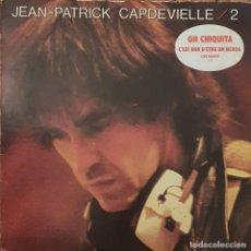 Discos de vinilo: JEAN-PATRICK CAPDEVIELLE ?– 2 SELLO: CBS ?– CBS 84695 FORMATO: VINYL, LP, ALBUM PAÍS: FRANCE. Lote 208690528