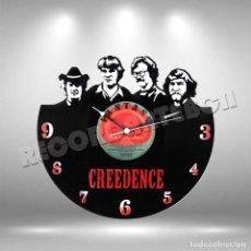 Discos de vinilo: RELOJ DE DISCO LP DE CREEDENCE. Lote 257602225